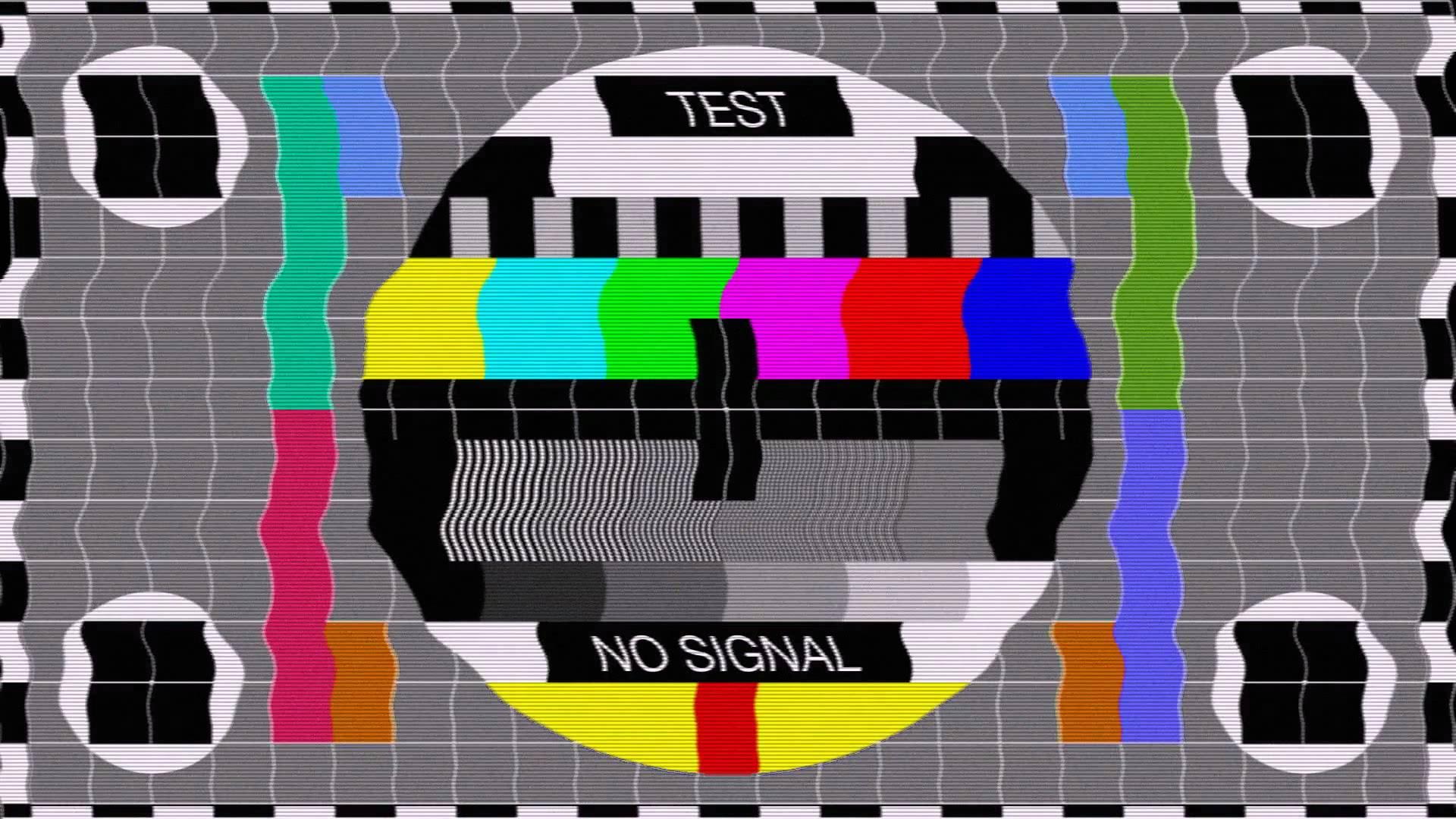 Testbild Fernsehen