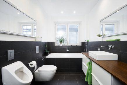 Immobilienfotografie eines Badezimmer in einer Wohnung in Berlin Lankwitz